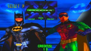 Batman Forever: The Arcade Game (Acclaim 1996)