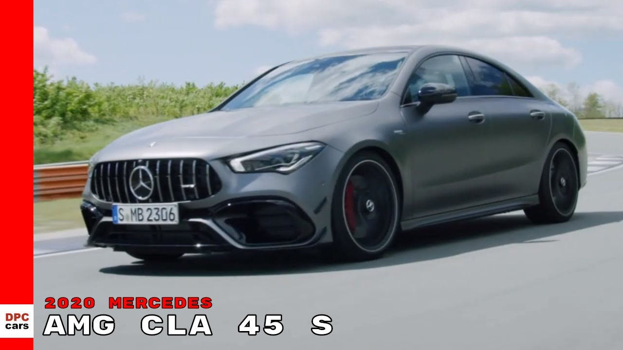 2020 Mercedes Amg Cla 45 S 4matic Coupe