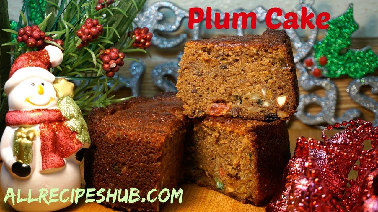 Christmas Fruit Cake Recipe Youtube