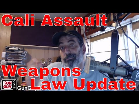 California Assault Weapons Law Update