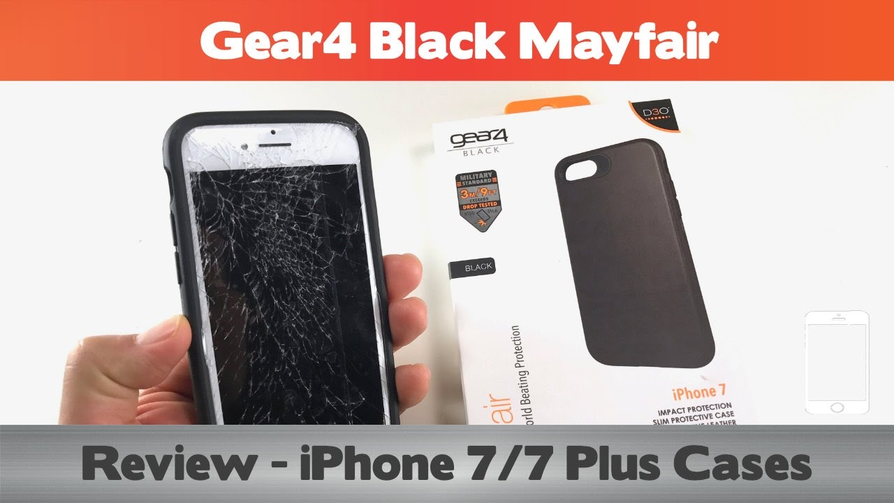 buy online 19a3a 7b239 Does the D30 do anything? Gear4 Black Mayfair Review - iPhone 7 Cases