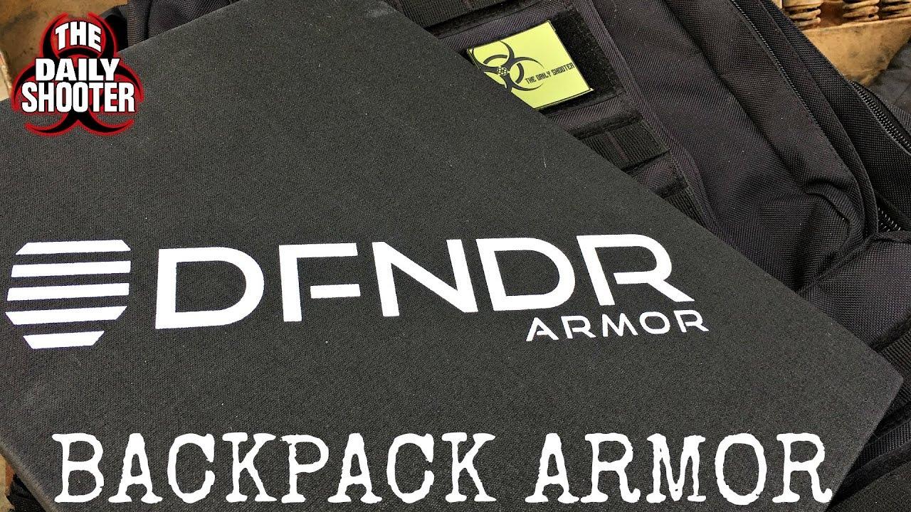 Backpack Armor in