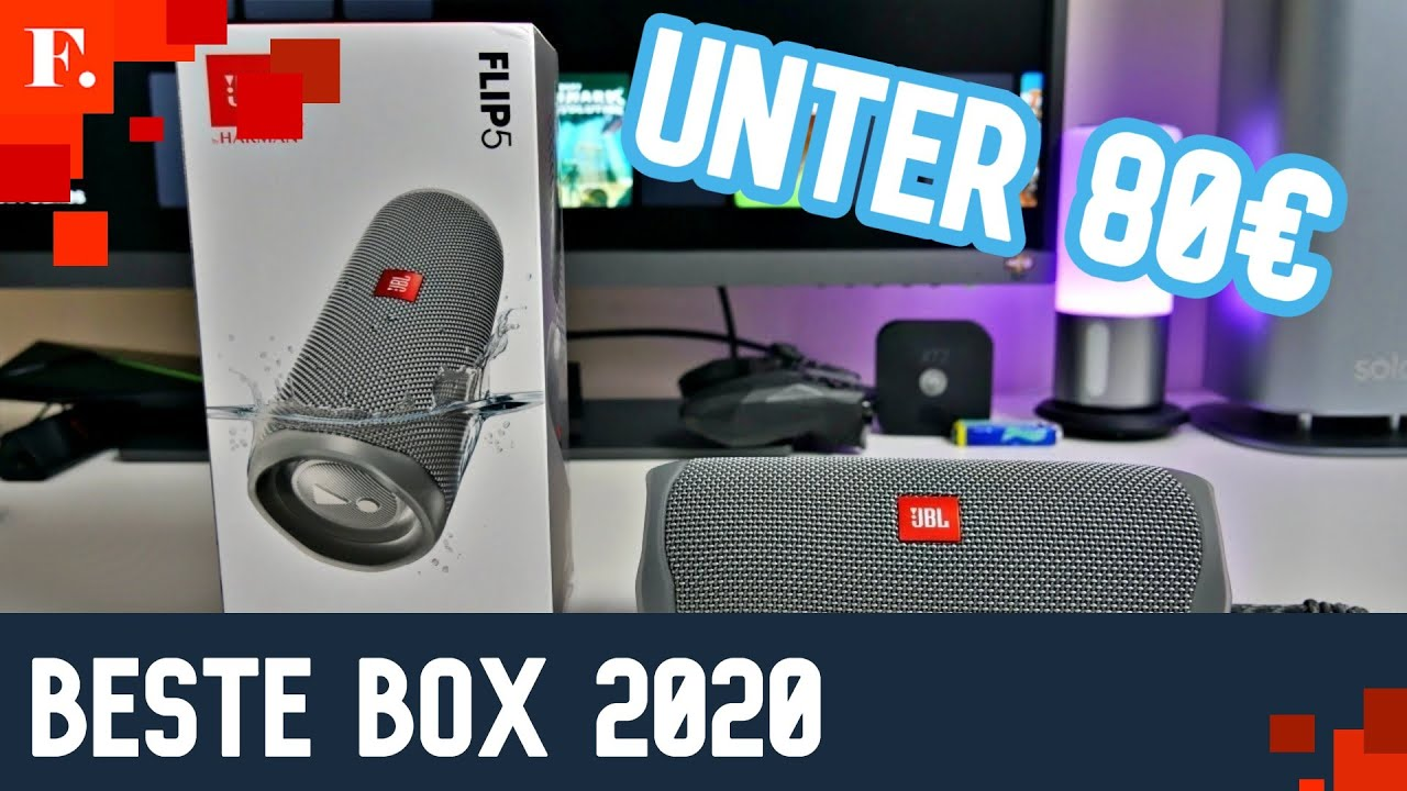 BESTE Bluetooth Box 5 unter 5 I JBL Flip 5 deutsch I Flex.😍🤯