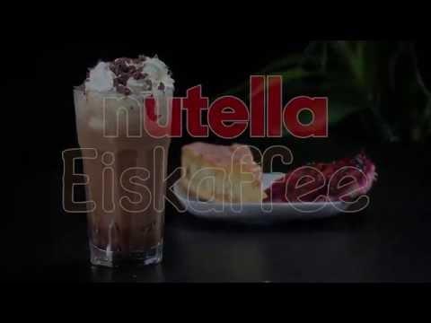Nutella Eiskaffee zubereiten - so lecker!
