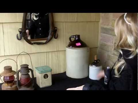 THE YARD SALE SHOW:  January 12, 2013  Old Lanterns, Crocks and a Hames!!!