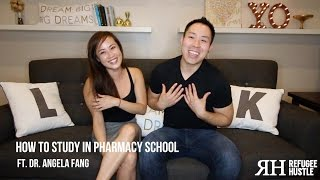 HOW TO STUDY IN PHARMACY SCHOOL (ft. Dr. Angela Fang)