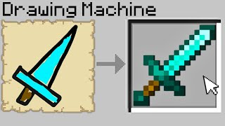 Minecraft Bedwars but if you draw diamond items, you get them...