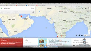 Google phone location tracking and Location history/timeline Free HD Video