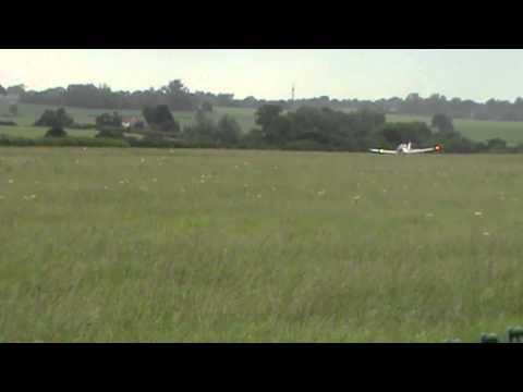 Scottish Aviation Bulldog Isohigh G BPCL  landing