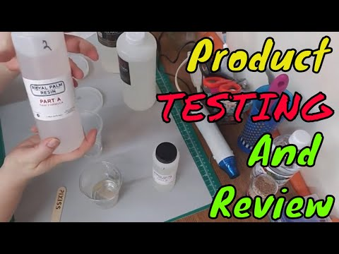 Casting Resin Review....Resin Art By