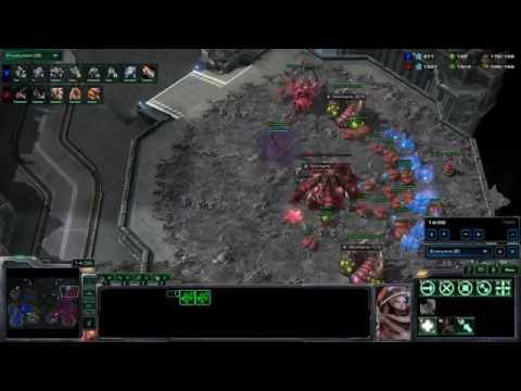 Starcraft 2 Zvt Hatch Muta Into Infestor Swarmhost Hive