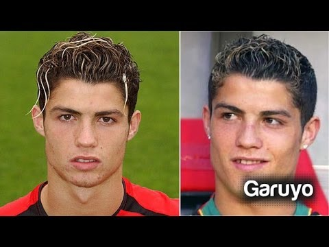 Antes y Despu�s de Cristiano Ronaldo // Fotos de Cristiano Ronaldo // Bal�n de Oro