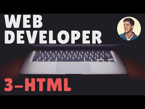 Part 3 (HTML) /// Lesson #1: Build Your First Website
