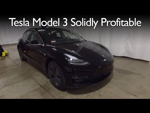 Munro Teardown Shows Tesla Model 3 Solidly Profitable