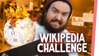 WIKIPEDIA CHALLENGE | Kelly & Sturmwaffel spielen das INTERNET durch! | GMI
