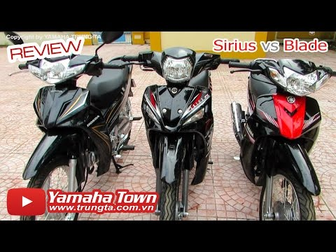 """Honda Blade vs Yamaha Sirius - """"Song ca cùng Thần Tượng!"""" ✔"""