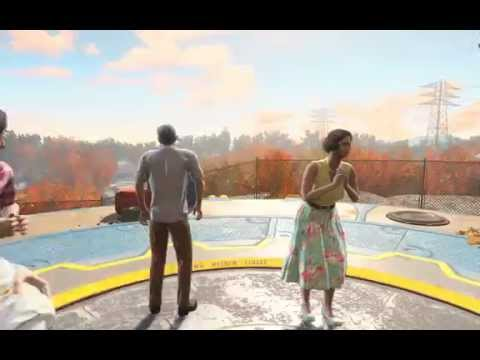 Fallout 4 Opening Scene - Nuclear Explosion @60FPS