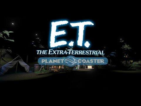 Planet Coaster E.T. Adventure!  