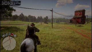 RDR2 glitch ( killer ghost horse )