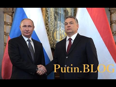 Vladimir Putin visited Hungary. (Russian-Hungarian talks)