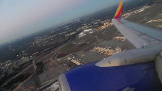 Southwest Airlines 737-7CT Takeoff from Atlanta Hartsfield/Jackson