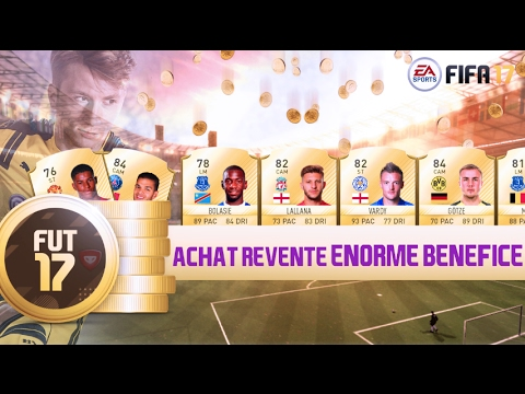 fifa 17 achat revente enorme benefice youtube. Black Bedroom Furniture Sets. Home Design Ideas