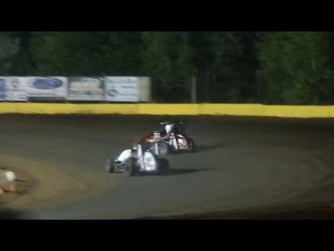 Paul Richards Hamlin Speedway Wingless 270 6/3/17