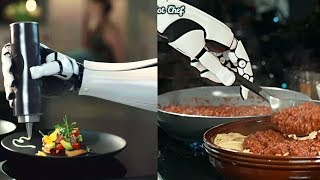 """""""Robot Chef"""" Can Prepare Your Dinner - World First Robotic Kitchen by Moley Robotics."""