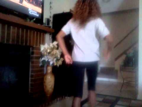 Ahney dancing to Beyonce girls run the world O.M.G