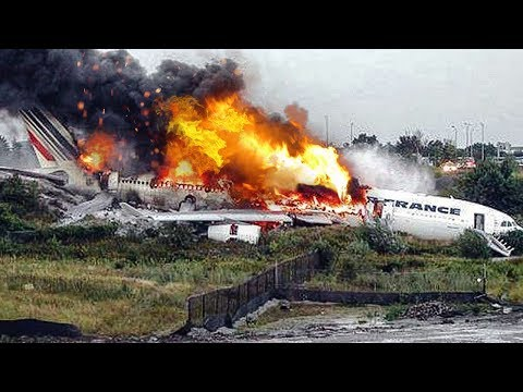 Miracle Escape | Airbus A340 Crash In Toronto | Air France Flight 358