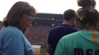 "Walking Into Michigan Stadium ""THE BIG HOUSE"""