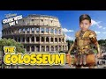 I CONQUERED ROME!!! COLOSSEUM & VATICAN! Disney Magic Mediterranean CRUISE WEEK - Day 4