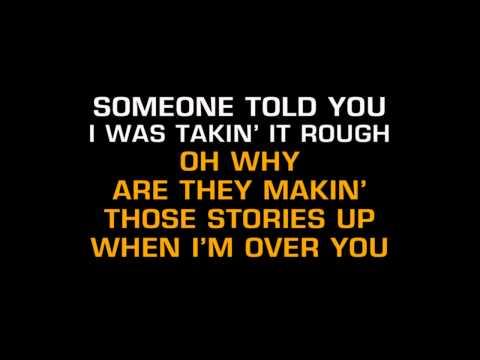 Keith Whitley - I'm Over You (Karaoke)