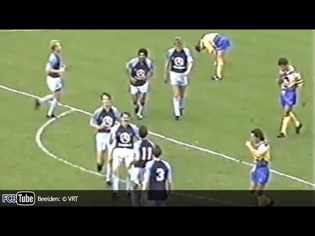 1988-1989 - Jupiler Pro League - 08. Club Brugge - Sint-Truiden 4-0