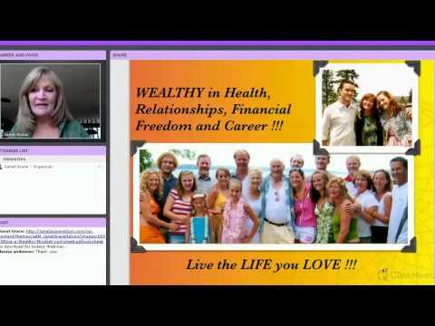 8/26/15 - Wednesday Webinar - Design a Wealthy Mindset