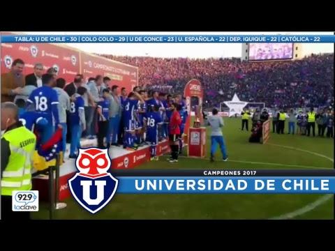 #ConclaveCampeonato FECHA 15   U de Chile 1x0 San Luis / Cobresal 1x3  Colo Colo