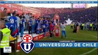 #ConclaveCampeonato FECHA 15 | U de Chile 1x0 San Luis / Cobresal 1x3  Colo Colo