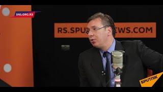 Vučić za Sputnjik: Odgovorićemo na naoružavanje suseda