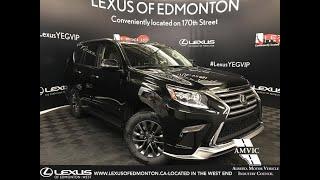 Black 2019 Lexus GX 460 Technology Package Review Edmonton Alberta - Lexus of Edmonton New