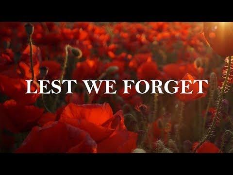 Lest We Forget - David Hood