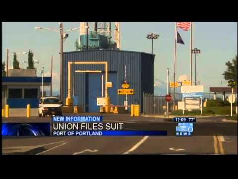 Longshoreman's union sues Port of Portland