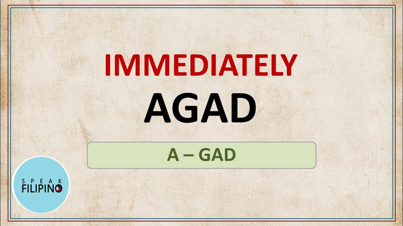 English - Tagalog Words to Add to your Vocabulary! #7