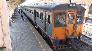 【キハ20似で運行 引退近い?】夕暮れのローカル線 東北線 鈍行列車
