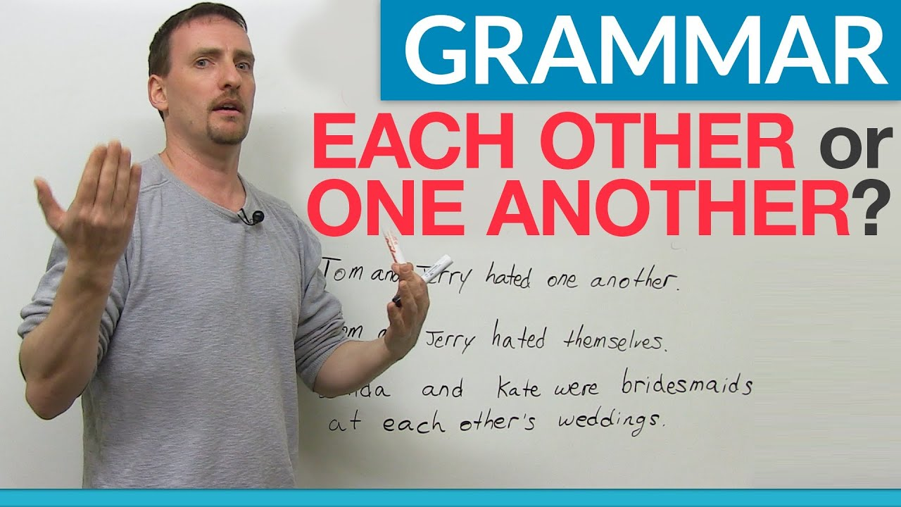 Download Learn English Grammar: EACH OTHER & ONE ANOTHER