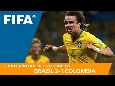 BRAZIL v COLOMBIA 2:1  2014 FIFA World Cup™