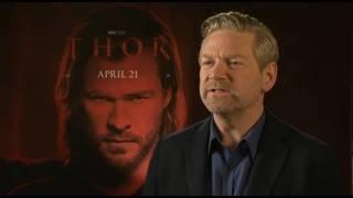 Kenneth Branagh Talks Thor
