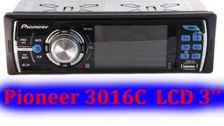 Автомагнитола Pioneer 3016C. Китай УДИВЛЯЕТ!