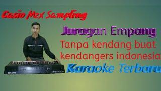 Juragan empang karaoke tanpa Kendang buat kendangers indonesia | sampling keyboard CASIO MZX