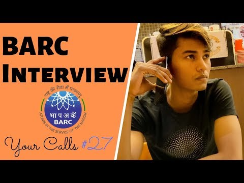 Strategy for BARC Interview