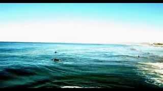 dji Inspire 1 @Manhattan beach Ca surf session with Dena Drones